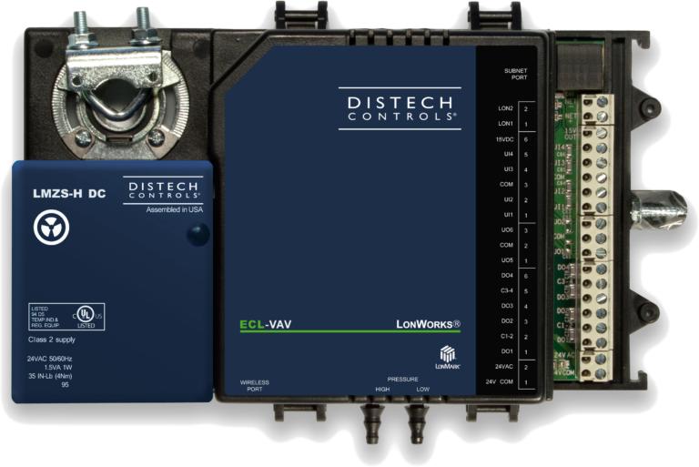 DISTECH ECL-VAVS LonWorks ECL-VAV 7-Point VAV Controller W//Allure EC-Smart-Vue